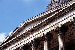 El National Gallery Londres Foto de archivo libre de regalías