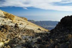 el-nationalparkteide tenerife Arkivfoto