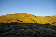 el-nationalparkteide tenerife Royaltyfria Foton