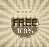 el 100% natural Foto de archivo libre de regalías
