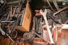 El naufragio atesora el museo, en Key West, la Florida, el museo cuenta la historia de la industria de los camiones de auxilio en imagen de archivo