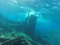 El naufragio se coloca en Cuba Fotos de archivo