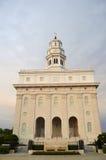 El Nauvoo, templo de Illinois LDS Foto de archivo