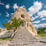 El Nazar Christian Church, Gereme Cappadocia, Turkey royalty free stock image