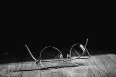 El negocio le gusta pares modernos elegantes de las gafas de las lentes con t Fotografía de archivo libre de regalías