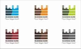 El negocio Logo Building Vector Foto de archivo