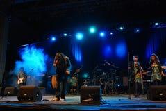 El Negro in Concert Stock Images