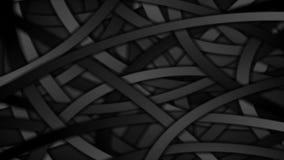 El negro curvado raya el fondo abstracto del movimiento
