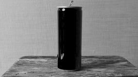 El negro puede Foto de archivo libre de regalías