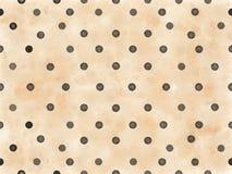El negro puntea el fondo beige imagen de archivo libre de regalías