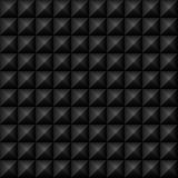El negro tachona textura inconsútil Imagenes de archivo