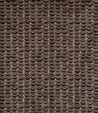 El negro y Brown cubre o el papel pintado Swatch del modelo de ondas Fotos de archivo