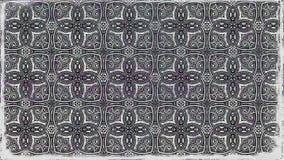 El negro y Gray Decorative Floral Ornament Background modelan la plantilla del diseño libre illustration