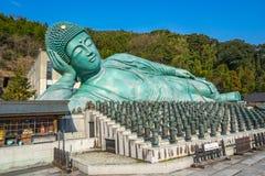 El Nehanzo del templo de Nanzoin en Fukuoka, Japón Imágenes de archivo libres de regalías