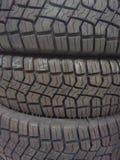 ¡El neumático es duro! Fotografía de archivo