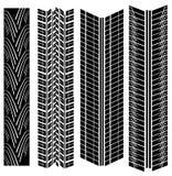 El neumático imprime vector Fotografía de archivo libre de regalías