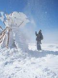 El nevar de It´s Foto de archivo libre de regalías