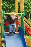 El niño alegre Foto de archivo libre de regalías