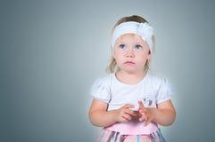 El niño asustado Imagen de archivo libre de regalías