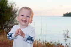 El niño de dos años Imágenes de archivo libres de regalías