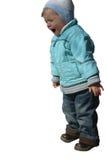 El niño está gritando Foto de archivo libre de regalías