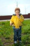 El niño ofendido Imagen de archivo