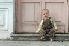 El niño pequeño Fotografía de archivo
