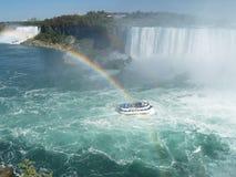 El Niagara Falls Foto de archivo libre de regalías