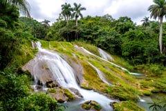 El Nicho - famous waterfalls on Cuba Stock Photo