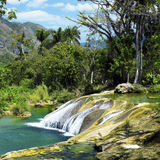 El Nicho waterfall Royalty Free Stock Photos