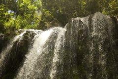 El Nicho waterfall royalty free stock photos