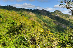El Nicho Waterfalls in Cuba Royalty Free Stock Photo