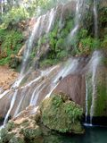 El Nicho Waterfalls Royalty Free Stock Photo