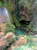 El Nicho Waterfalls. El Nicho is a veritable paradise and one of the best places in the world to slow down and simply enjoy the sights and sounds of nature. El Royalty Free Stock Photography