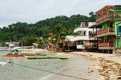 El Nido镇,菲律宾 免版税图库摄影