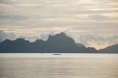 El Nido, Филиппиныы Стоковые Изображения