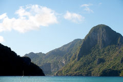 El Nido Bay and Cadlao Island, El Nido, Philippines Royalty Free Stock Image