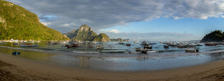 El Nido bay panorama Royalty Free Stock Images
