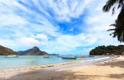 El Nido Beach Royalty Free Stock Image