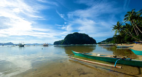El Nido Coast Stock Images