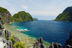 EL Nido, Filippine immagine stock libera da diritti