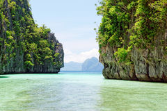 EL Nido, Filippine fotografia stock