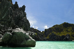 El nido karst palawan philippines Stock Images