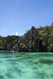 El nido karst seascape palawan philippines Stock Photos