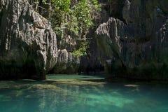 El Nido lagoon Stock Image