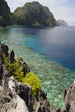 El Nido lagoon Stock Photo