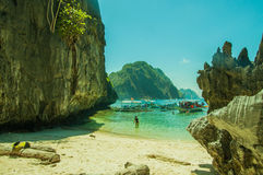 EL Nido, Palawan Filipinas Foto de Stock Royalty Free