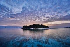 EL Nido Palawan Filippine dell'isola deserta del fratello Immagine Stock