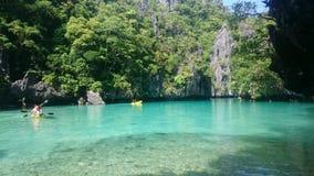 El Nido, Palawan. Island Hopping, The Small Lagoon Royalty Free Stock Photo