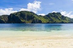 El Nido Palawan Philippines. Talisay Beach, Tapiutan Island, El Nido, Palawan, Philippines Stock Photos